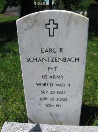SCHANTZENBACH (WW II), EARL R. - Bucks County, Pennsylvania | EARL R. SCHANTZENBACH (WW II) - Pennsylvania Gravestone Photos