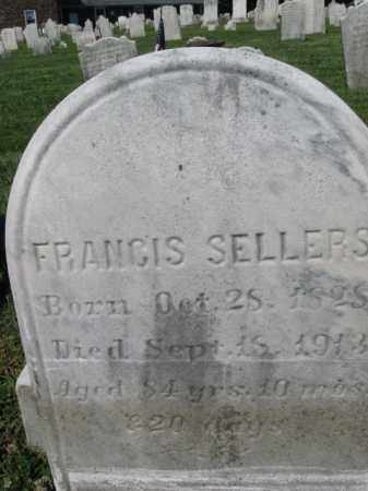 SELLERS, FRANCIS - Bucks County, Pennsylvania | FRANCIS SELLERS - Pennsylvania Gravestone Photos