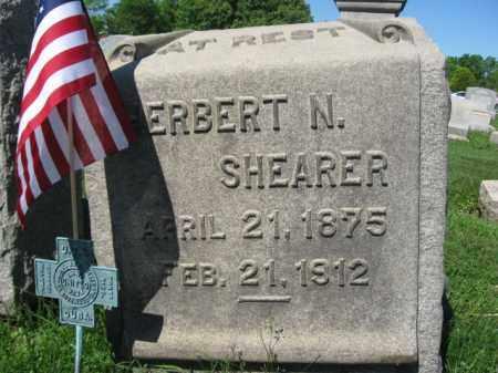 SHEARER (SAW), HERBERT N. - Bucks County, Pennsylvania   HERBERT N. SHEARER (SAW) - Pennsylvania Gravestone Photos