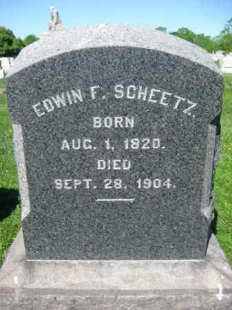 SHEETZ, EDWIN F. - Bucks County, Pennsylvania   EDWIN F. SHEETZ - Pennsylvania Gravestone Photos