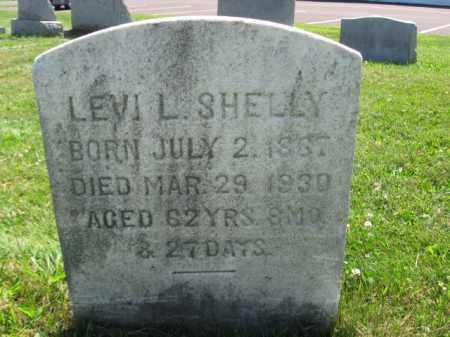 SHELLY, LEVI L. - Bucks County, Pennsylvania | LEVI L. SHELLY - Pennsylvania Gravestone Photos