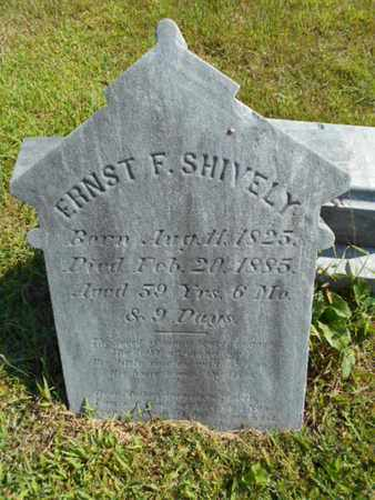SHIVELY, ERNST - Bucks County, Pennsylvania | ERNST SHIVELY - Pennsylvania Gravestone Photos