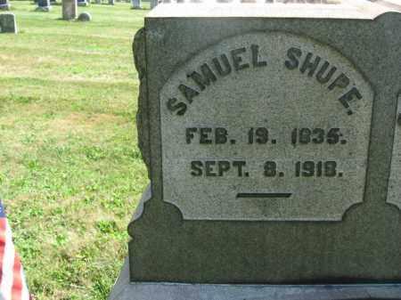 SHUPE, SAMUEL - Bucks County, Pennsylvania | SAMUEL SHUPE - Pennsylvania Gravestone Photos