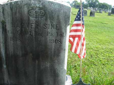 SINE, HARVEY - Bucks County, Pennsylvania | HARVEY SINE - Pennsylvania Gravestone Photos