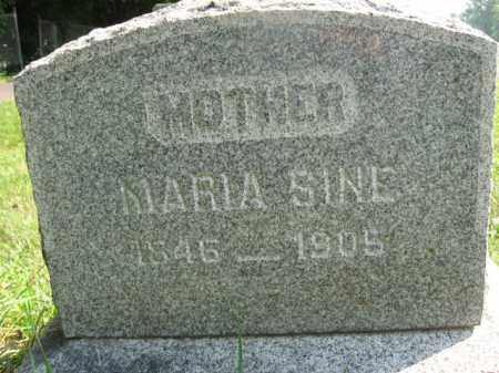 SINE, MARIA - Bucks County, Pennsylvania   MARIA SINE - Pennsylvania Gravestone Photos