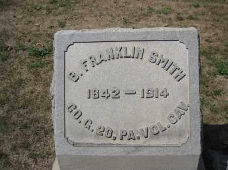 SMITH (CW), BENJAMIN FRANKLIN - Bucks County, Pennsylvania | BENJAMIN FRANKLIN SMITH (CW) - Pennsylvania Gravestone Photos