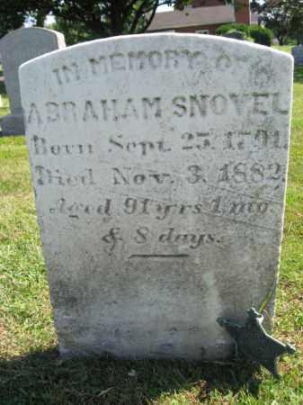 SNOVEL, ABRAHAM - Bucks County, Pennsylvania | ABRAHAM SNOVEL - Pennsylvania Gravestone Photos