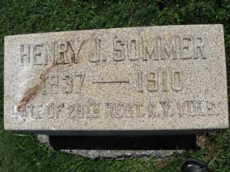 SOMMER (CW), HENRY J. - Bucks County, Pennsylvania | HENRY J. SOMMER (CW) - Pennsylvania Gravestone Photos