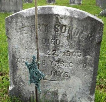 SOUDER (CW), HENRY - Bucks County, Pennsylvania | HENRY SOUDER (CW) - Pennsylvania Gravestone Photos