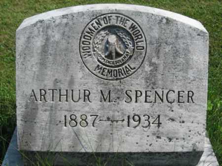 SPENCER, ARTHUR M. - Bucks County, Pennsylvania | ARTHUR M. SPENCER - Pennsylvania Gravestone Photos