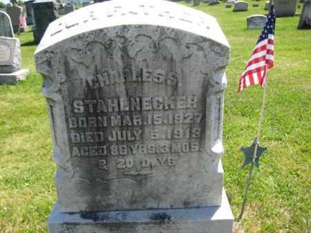STAHLNECKER (CW), CHARLES - Bucks County, Pennsylvania | CHARLES STAHLNECKER (CW) - Pennsylvania Gravestone Photos
