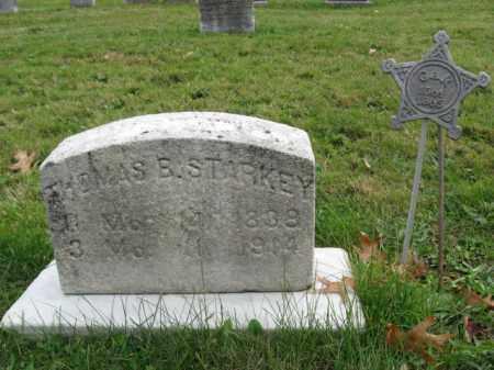 STARKEY (CW), THOMAS B. - Bucks County, Pennsylvania | THOMAS B. STARKEY (CW) - Pennsylvania Gravestone Photos