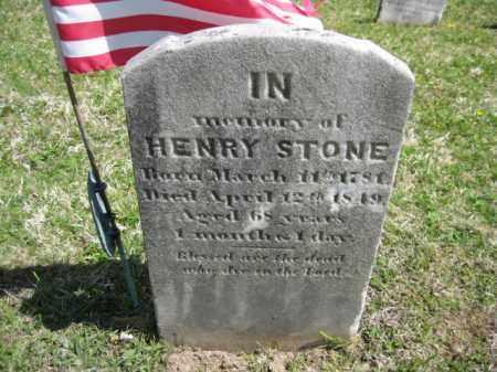 STONE, HENRY - Bucks County, Pennsylvania   HENRY STONE - Pennsylvania Gravestone Photos