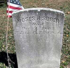 SUBER (CW), MOSES H. - Bucks County, Pennsylvania | MOSES H. SUBER (CW) - Pennsylvania Gravestone Photos