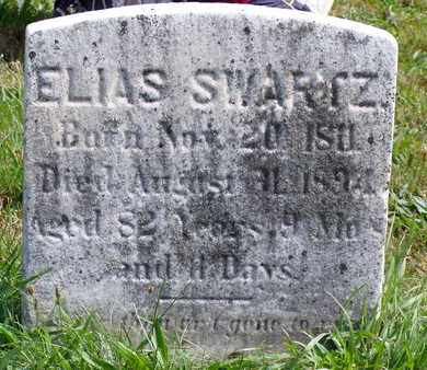 SWARTZ, ELIAS - Bucks County, Pennsylvania | ELIAS SWARTZ - Pennsylvania Gravestone Photos