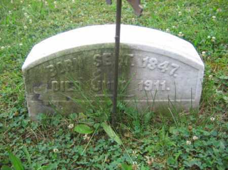 THOMAS (CW), PVT.IRVIN - Bucks County, Pennsylvania   PVT.IRVIN THOMAS (CW) - Pennsylvania Gravestone Photos