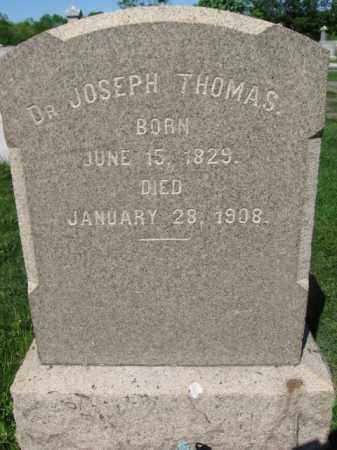 THOMAS, DR.JOSEPH - Bucks County, Pennsylvania | DR.JOSEPH THOMAS - Pennsylvania Gravestone Photos