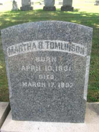TOMLINSON, MARTHA B. - Bucks County, Pennsylvania | MARTHA B. TOMLINSON - Pennsylvania Gravestone Photos