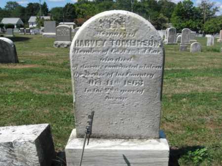 TOMLINSON (CW), HARVEY (HARBEY) - Bucks County, Pennsylvania | HARVEY (HARBEY) TOMLINSON (CW) - Pennsylvania Gravestone Photos