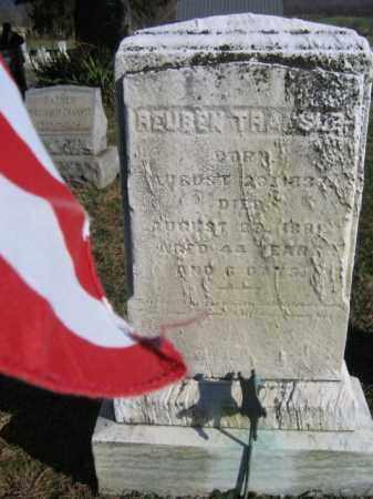 TRANSUE (CW), REUBEN - Bucks County, Pennsylvania | REUBEN TRANSUE (CW) - Pennsylvania Gravestone Photos