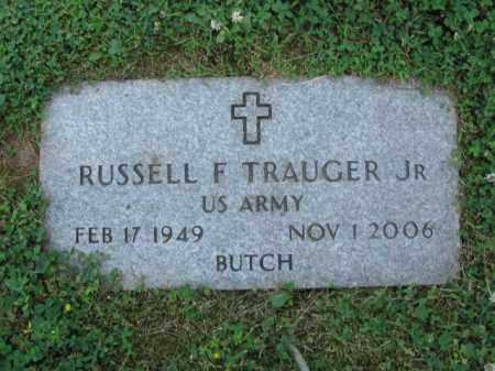 TRAUGER,JR., RUSSELL F. - Bucks County, Pennsylvania   RUSSELL F. TRAUGER,JR. - Pennsylvania Gravestone Photos