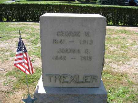 TREXLER (CW), GEORGE W. - Bucks County, Pennsylvania | GEORGE W. TREXLER (CW) - Pennsylvania Gravestone Photos