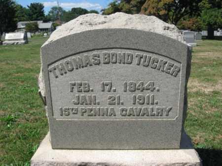 TUCKER (CW), THOMAS BOND - Bucks County, Pennsylvania | THOMAS BOND TUCKER (CW) - Pennsylvania Gravestone Photos