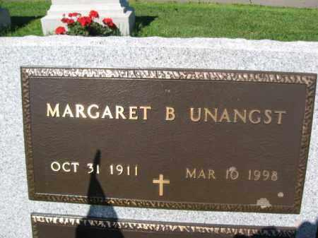 UNANGST, MARGARET B. - Bucks County, Pennsylvania | MARGARET B. UNANGST - Pennsylvania Gravestone Photos