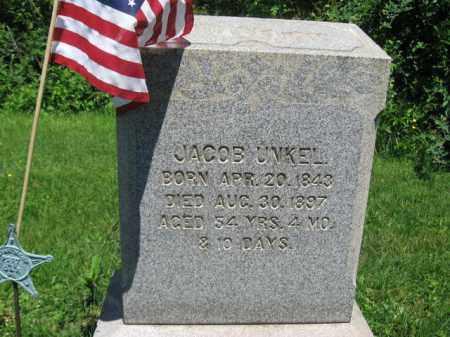 UNKEL (UNKLE) (CW), JACOB - Bucks County, Pennsylvania | JACOB UNKEL (UNKLE) (CW) - Pennsylvania Gravestone Photos