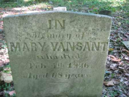 VANSANT, MARY - Bucks County, Pennsylvania | MARY VANSANT - Pennsylvania Gravestone Photos