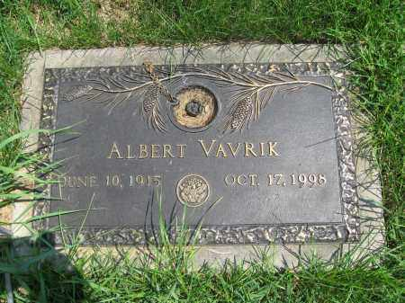 VAVIK, ALBERT - Bucks County, Pennsylvania   ALBERT VAVIK - Pennsylvania Gravestone Photos