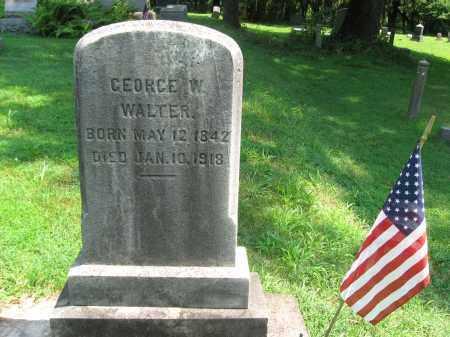 WALTER (CW), GEORGE W. - Bucks County, Pennsylvania | GEORGE W. WALTER (CW) - Pennsylvania Gravestone Photos