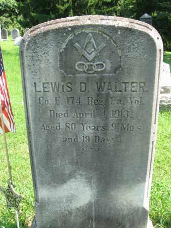 WALTER (CW), LEWIS D. - Bucks County, Pennsylvania | LEWIS D. WALTER (CW) - Pennsylvania Gravestone Photos