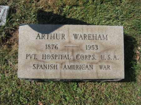 WAREHAM, ARTHUR - Bucks County, Pennsylvania | ARTHUR WAREHAM - Pennsylvania Gravestone Photos