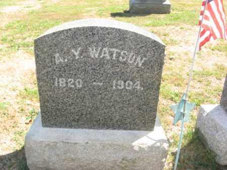 WATSON (CW), ADOLPHUS Y. - Bucks County, Pennsylvania | ADOLPHUS Y. WATSON (CW) - Pennsylvania Gravestone Photos