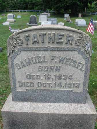 WEISEL, SAMUEL F. - Bucks County, Pennsylvania | SAMUEL F. WEISEL - Pennsylvania Gravestone Photos