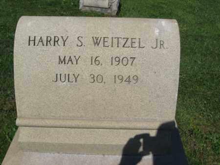 WEITZEL,JR., HARRY S. - Bucks County, Pennsylvania | HARRY S. WEITZEL,JR. - Pennsylvania Gravestone Photos