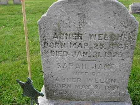WELCH  (CW), ABNER - Bucks County, Pennsylvania   ABNER WELCH  (CW) - Pennsylvania Gravestone Photos