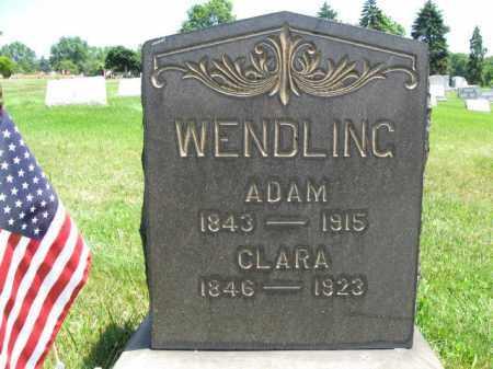 WENDLING (CW), ADAM - Bucks County, Pennsylvania   ADAM WENDLING (CW) - Pennsylvania Gravestone Photos
