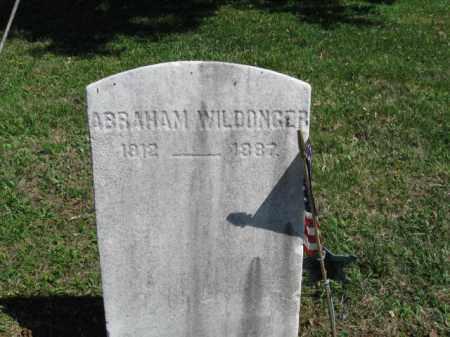 WILDONGER, ABRAHAM - Bucks County, Pennsylvania | ABRAHAM WILDONGER - Pennsylvania Gravestone Photos