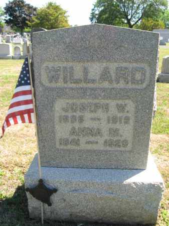 WILLARD (CW), JOSEPH W. - Bucks County, Pennsylvania | JOSEPH W. WILLARD (CW) - Pennsylvania Gravestone Photos