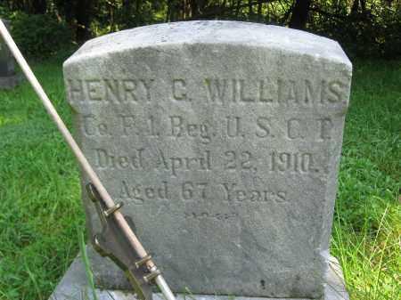 WILLIAMS (CW), HENRY G. - Bucks County, Pennsylvania | HENRY G. WILLIAMS (CW) - Pennsylvania Gravestone Photos