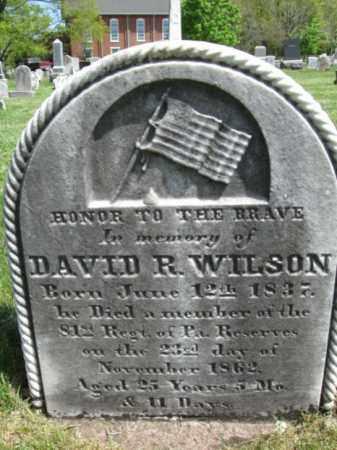 WILSON (CW), DAVID R. (D) - Bucks County, Pennsylvania | DAVID R. (D) WILSON (CW) - Pennsylvania Gravestone Photos
