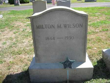 WILSON (CW), MILTON M. - Bucks County, Pennsylvania | MILTON M. WILSON (CW) - Pennsylvania Gravestone Photos
