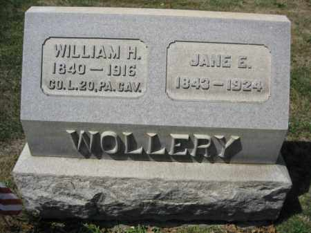 WOLLERY (CW), WILLIAM H. - Bucks County, Pennsylvania | WILLIAM H. WOLLERY (CW) - Pennsylvania Gravestone Photos