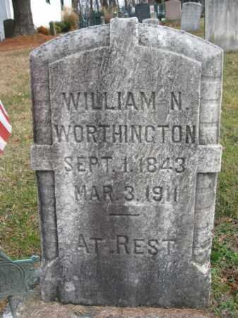 WORTHINGTON (CW), WILLIAM N. - Bucks County, Pennsylvania   WILLIAM N. WORTHINGTON (CW) - Pennsylvania Gravestone Photos