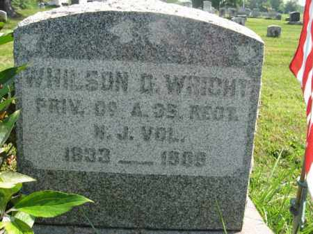 WRIGHT, WHILSON  (WILSON) - Bucks County, Pennsylvania | WHILSON  (WILSON) WRIGHT - Pennsylvania Gravestone Photos