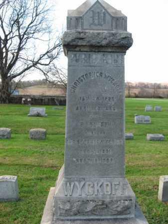 WYCKOFF, CHRISTOPHER - Bucks County, Pennsylvania | CHRISTOPHER WYCKOFF - Pennsylvania Gravestone Photos