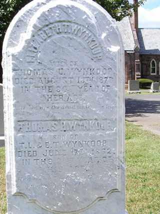 WYNKOOP (CW), THOMAS H.T. - Bucks County, Pennsylvania | THOMAS H.T. WYNKOOP (CW) - Pennsylvania Gravestone Photos