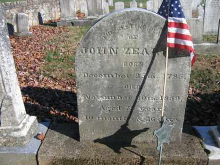 ZEARFOSS, JOHN - Bucks County, Pennsylvania | JOHN ZEARFOSS - Pennsylvania Gravestone Photos